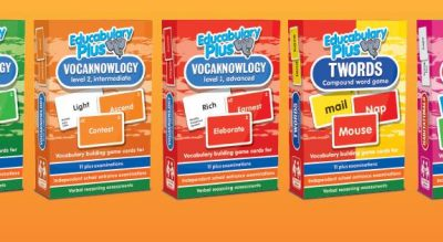 Educabulary Plus packets of cards