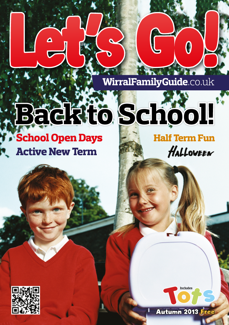 Front Cover of Let's Go! Magazine Autumn 2013