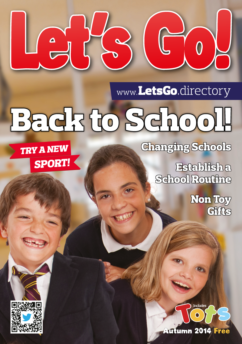 Front Cover of Let's Go! Magazine Autumn 2014