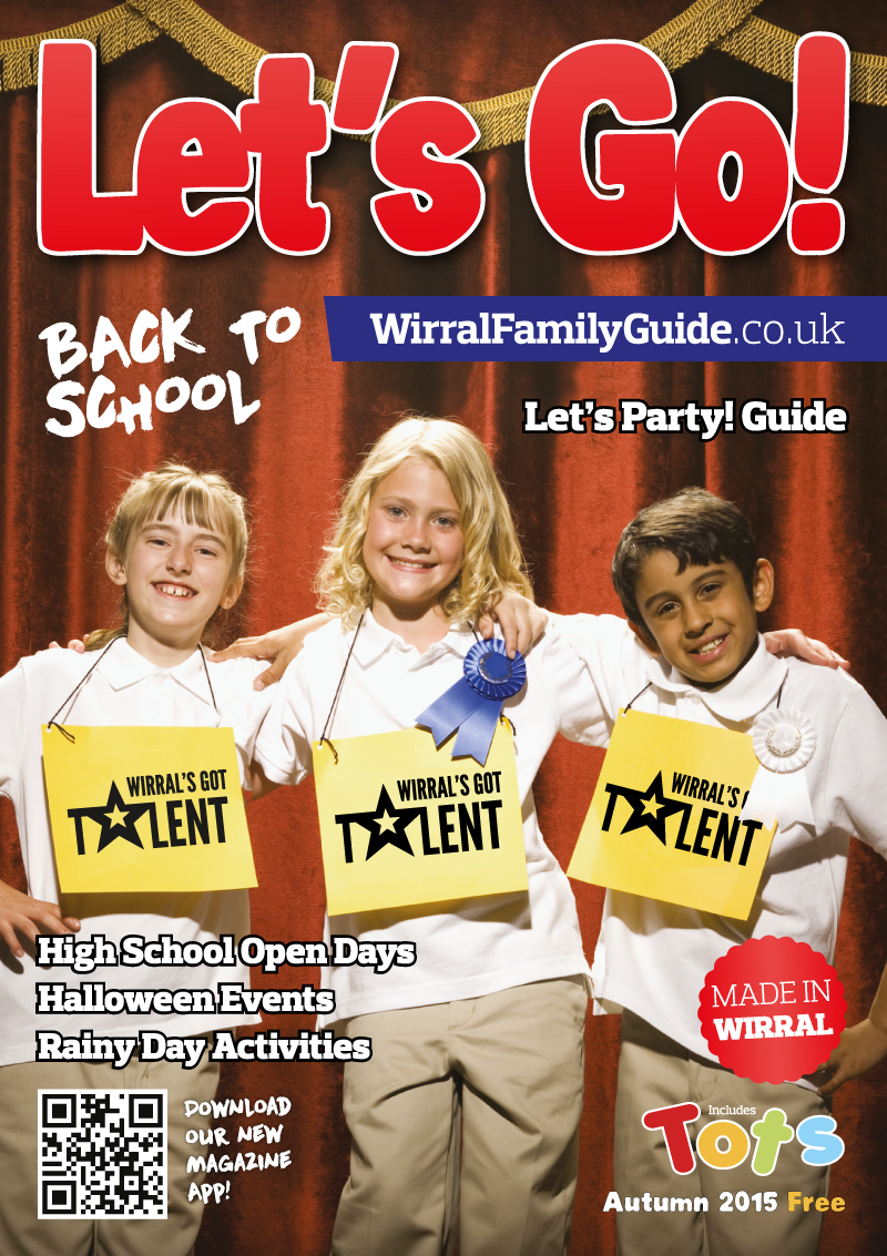 Front Cover of Let's Go! Magazine Autumn 2015