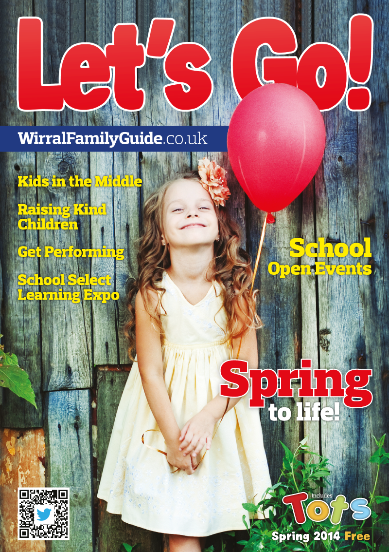 Front Cover of Let's Go! Magazine Spring 2014