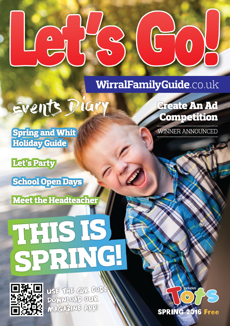 Front Cover of Let's Go! Magazine Spring 2016