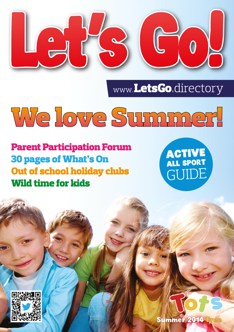 Front Cover of Let's Go! Magazine Summer 2014