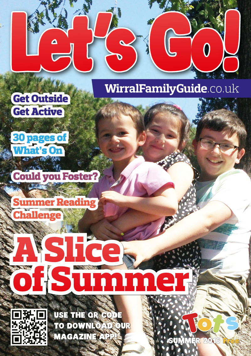 Front Cover of Let's Go! Magazine Summer 2016