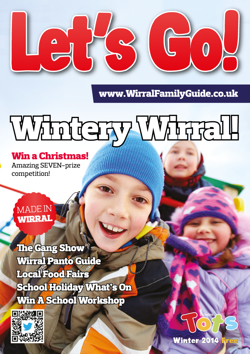 Front Cover of Let's Go! Magazine Winter 2014
