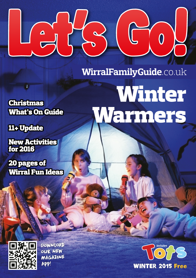 Front Cover of Let's Go! Magazine Winter 2015