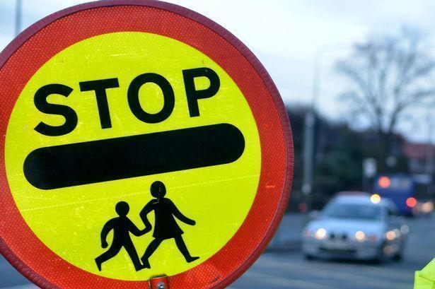 School Crossing Patrol Stop sign
