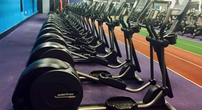 Total Fitness Prenton cross-trainers