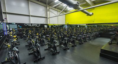 Total Fitness Prenton Spin room