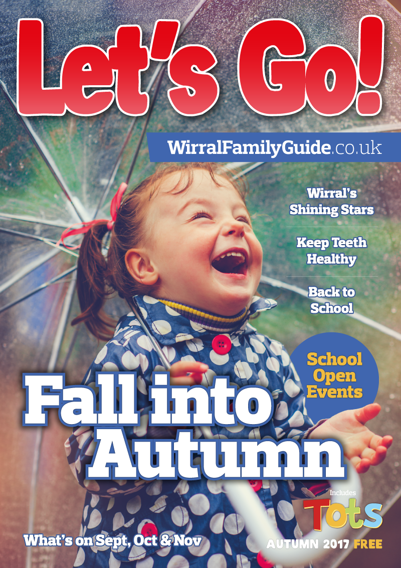 Front Cover of Let's Go! Magazine Autumn 2017