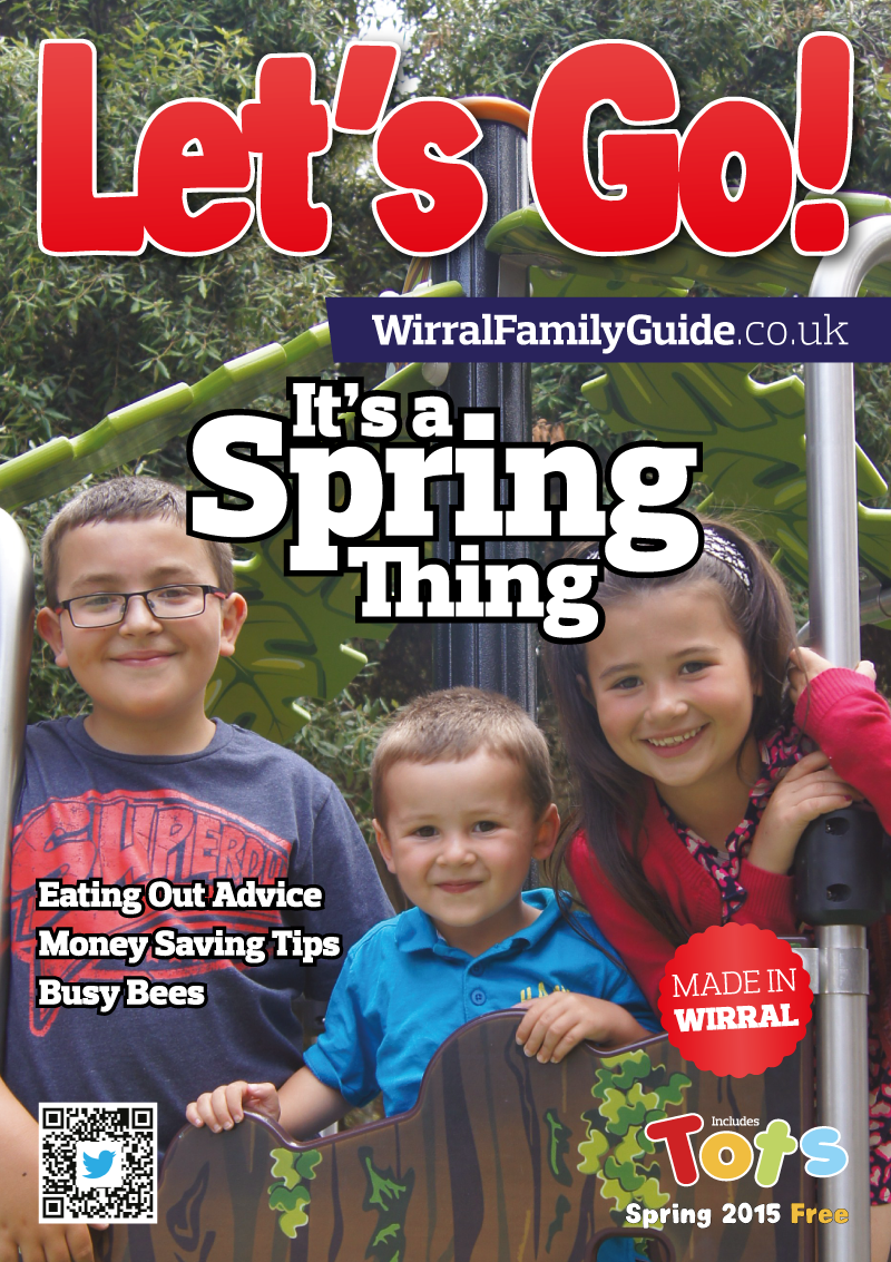 Front Cover of Let's Go! Magazine Spring 2015