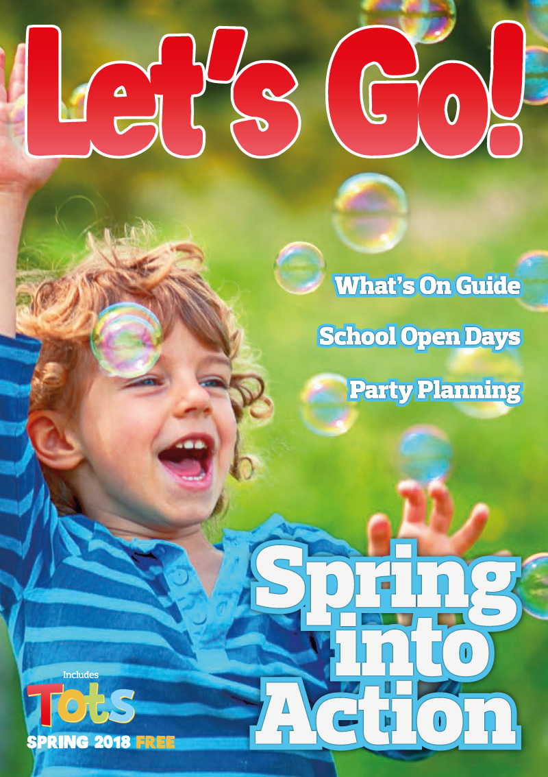 Front Cover of Let's Go! Magazine Spring 2018