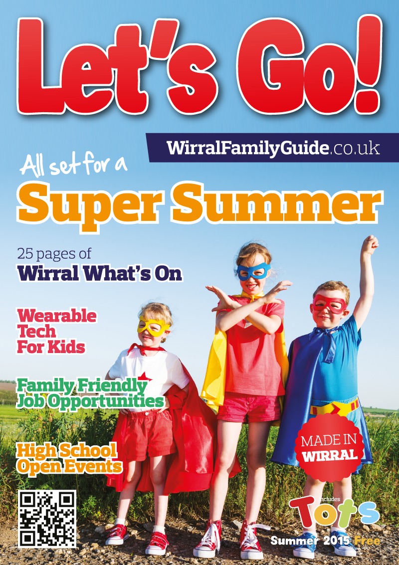 Front Cover of Let's Go! Magazine Summer 2015