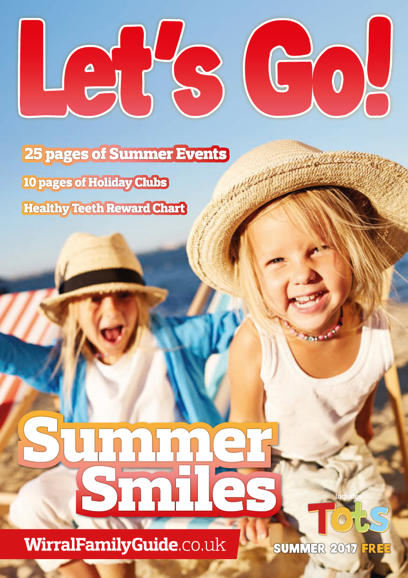 Front Cover of Let's Go! Magazine Summer 2017