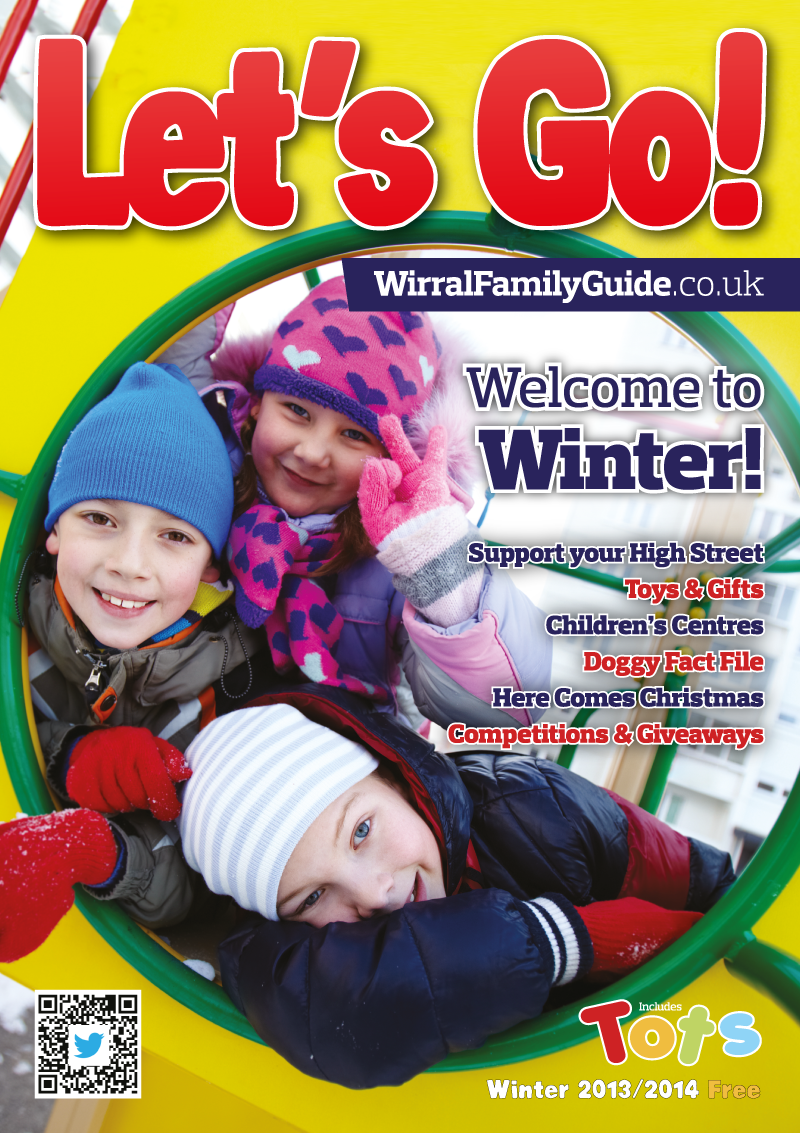 Front Cover of Let's Go! Magazine Winter 2013