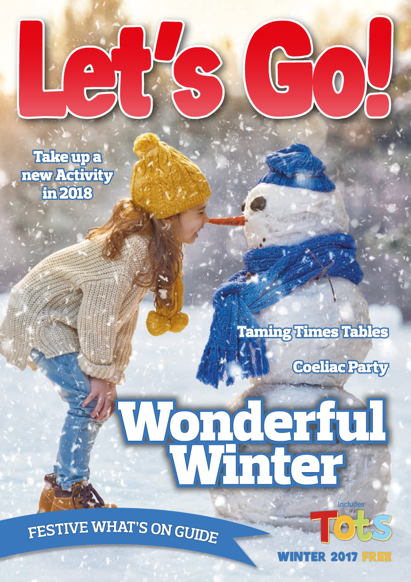 Front Cover of Let's Go! Magazine Winter 17