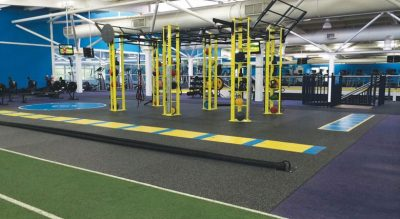Total Fitness weights area